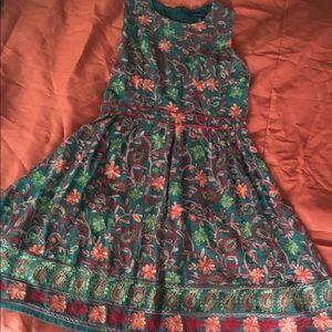 Needlepoint Garden Dress from Anthropology store