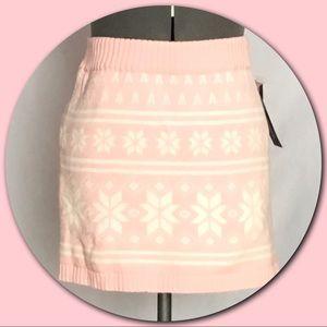Cherokee 💕Fairisle Knit Mini Skirt💕