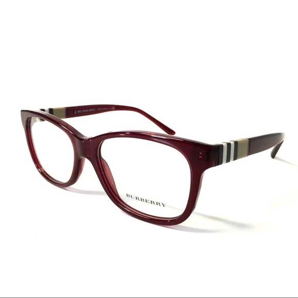 fa40c792f0d Burberry Accessories - Burberry Eyeglasses Burgundy NEW