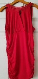 WHBM-NEW WITH TAGS-red sleeveless top