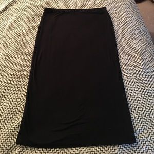 Bisou Bisou Black Pencil Skirt
