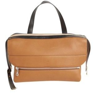 Dalston Two Toned Leather Multiway Shoulder Bag