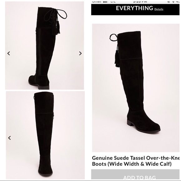 8a750c3082f Genuine Suede Tassel Over-the-Knee Boots. M 5a0369d5713fdec64107d9b1