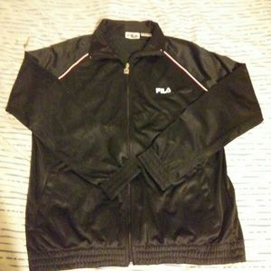 Fila XL Black Performance Jacket!