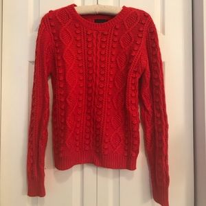 Red Cynthia Rowley Sweater