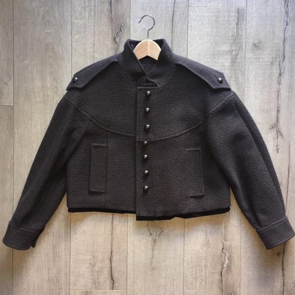 e7f0e8e13d1 Yves Saint Laurent Jackets & Coats | Ysl Wool Military Jacket | Poshmark