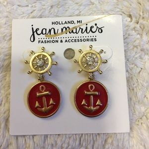 Jewelry - Brand New ** Anchor Earrings