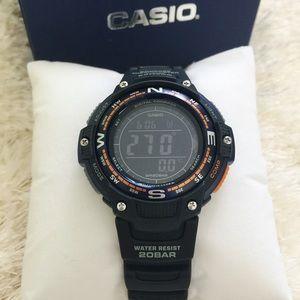 NEW Casio Men's Compass Watch
