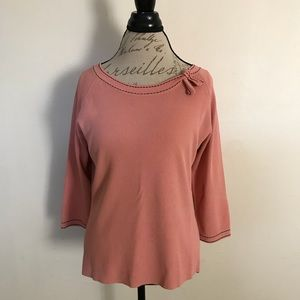 Emma James Sweater Womens Size Large Scoop Neck