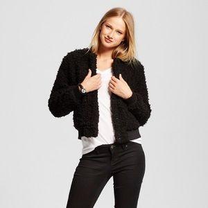 Jackets & Blazers - Who What Wear x Target fuzzy Bomber