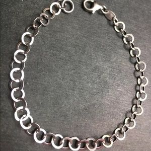 Jewelry - New 14k Layer On Solid  Sterling Silver Bracelet