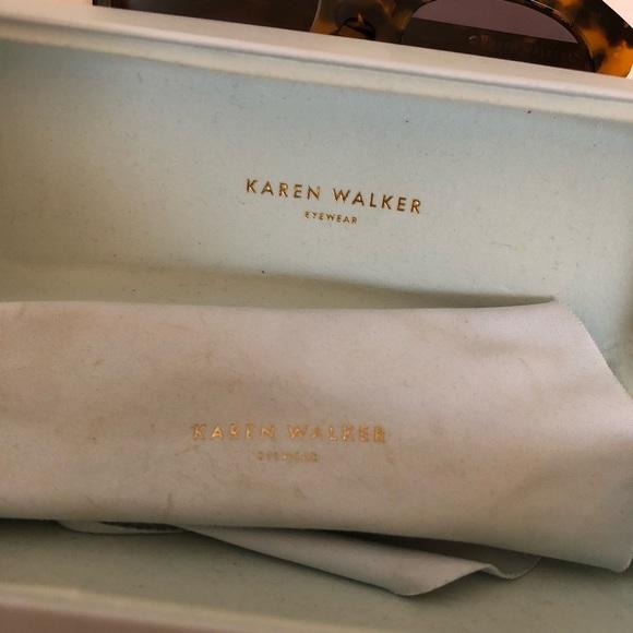 Karen Walker Accessories - Karen Walker Number One Sunglasses - Tortoise