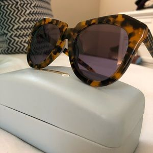 Karen Walker Number One Sunglasses - Tortoise