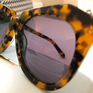 Karen Walker Accessories - Karen Walker Number One Sunglasses - Tortoise