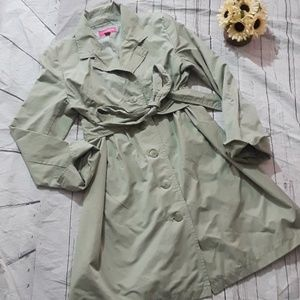 Liz Lange Maternity fall trench coat