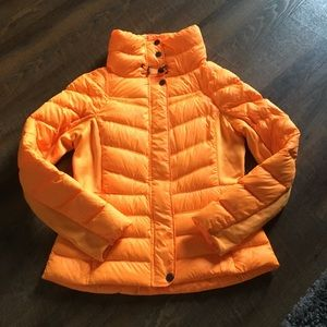 ORANGE DOWN PUFFER JACKET JCP SZ MEDIUM