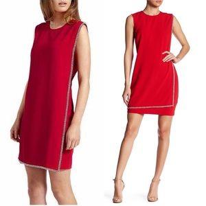 NWT Ted Baker Red Burford Embellished Dress