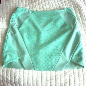 Sea Form Green Mustard Seed Mini Skirt