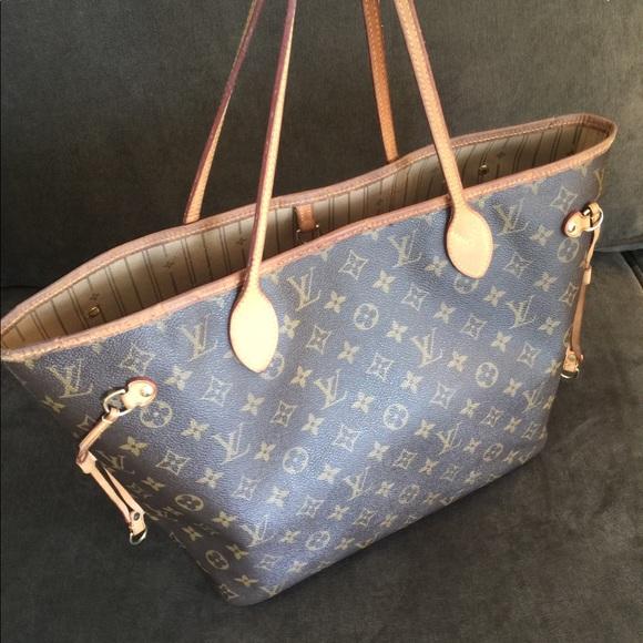 78bb735ffc Louis Vuitton Handbags - Authentic Preowned Louis Vuitton Neverfull Mm