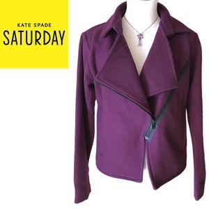 "kate spade Saturday ""Let Loose!"" Moto Jacket"