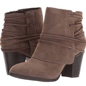 NWT Gray Booties