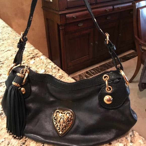 0212909f70dd39 Gucci Bags | Authentic Babouska Black Leather Hobo Bag | Poshmark
