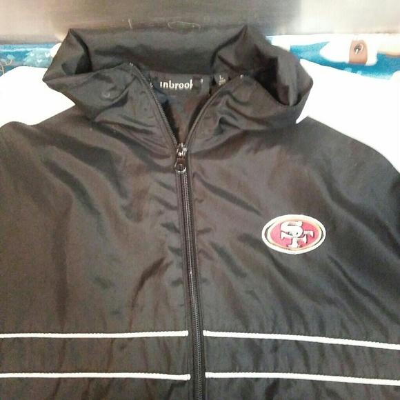 official photos 4bf7e cfd0a Dunbrooke San Francisco 49ers Large Jacket!
