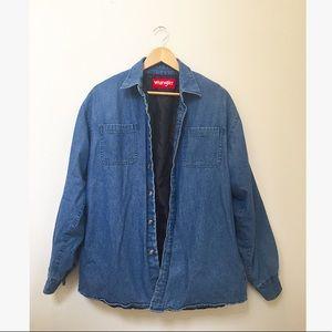 Vintage Wrangler Denim Boyfriend Jacket
