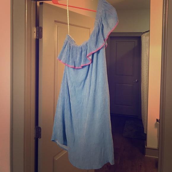 36cf507d6c9bce Lilly Pulitzer Dresses & Skirts - Lilly Pulitzer Emmeline Dress - Summer  Seersucker