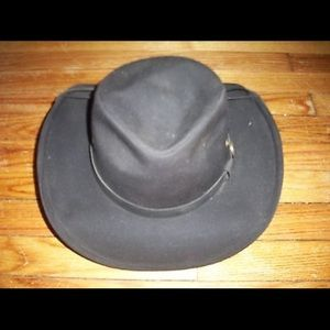 outback Trading Accessories - Outback Trading Mens Kodiak Oilskin Cowboy Hat 243f8b36548