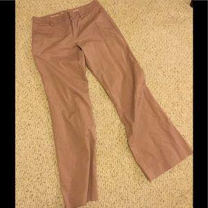 Gap khakis, mauve color, size 6