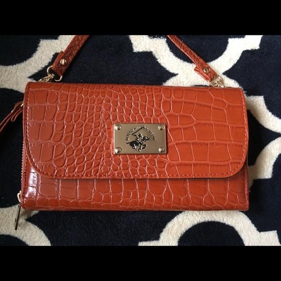 8a1b180362f Beverly Hills Polo Club Bags   New Wristlet Wallet Crossb   Poshmark
