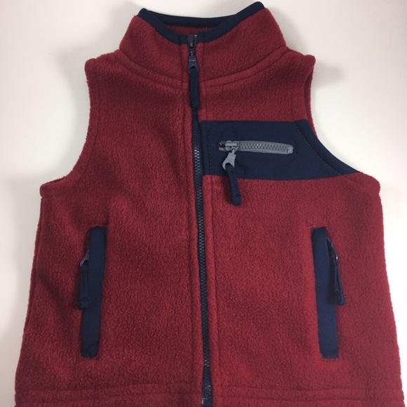 Outerwear Koala Kids Girls Size 12m Red Zippered Heart Quilted Vest