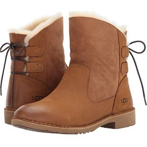 Brand new authentic chestnut UGG boots