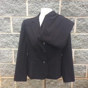 Emma & James 8 Petite Black Business Suit