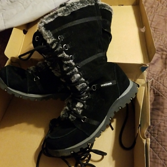 skechers unlimited boots