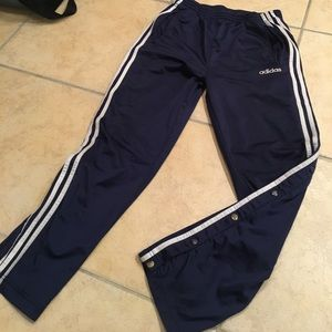 Other - Vintage adidas tear away pants Spell Out