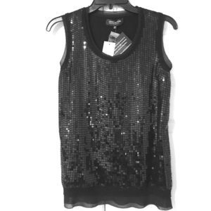 Jones New York Sequin Top Gorgi! New with tags