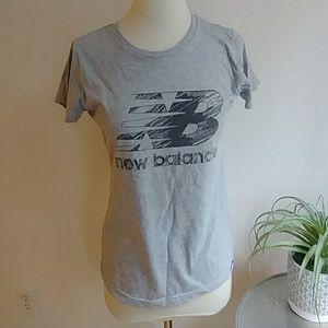 New balance gray tee shirt NWOT