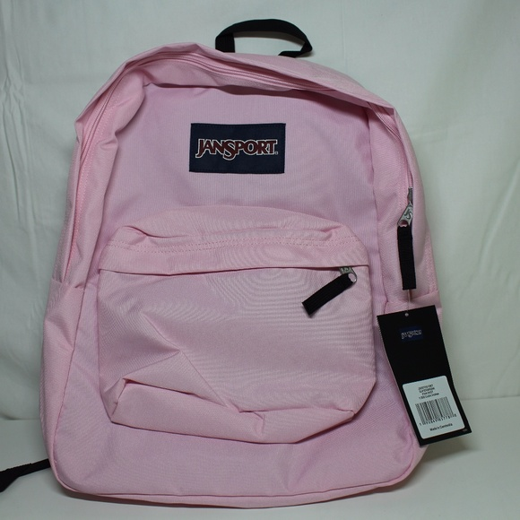 7a5d2223f7569 JanSport Superbreak Backpack Pink Mist Light Pink