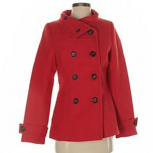 H&M Red Coat