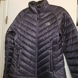 Women Northface waist length coat