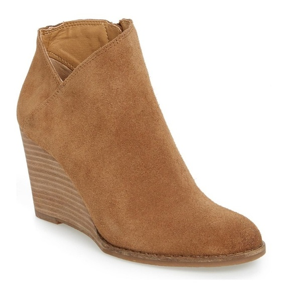 62d25edc3536 Lucky Brand Yakeena wedge booties