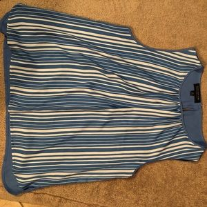 Jones New York light blue top, New without tags