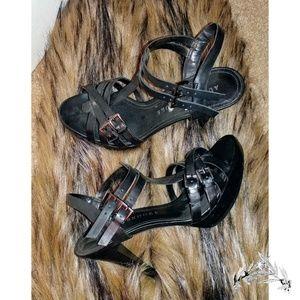 Audrey Brooke Black Heels