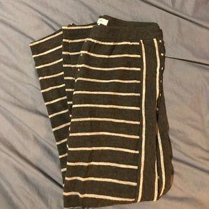 Madewell Knit Striped Leggings