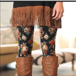 Flower Leggings - Super Soft