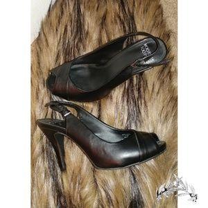 Mootsie Tootsie Black Heels