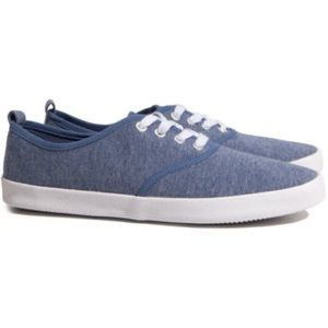 H&M SLIP ON CANVAS SNEAKERS