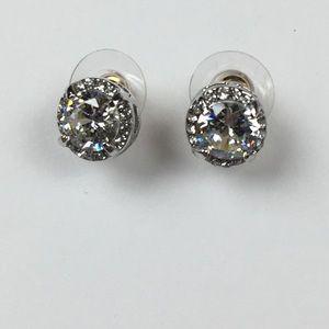 Jewelry - 🍃THANKFUL🍁NWOT .925 Faux Diamond Studs